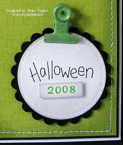 Halloween 2008 close up