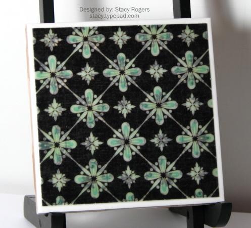 Green & Black tiles 2