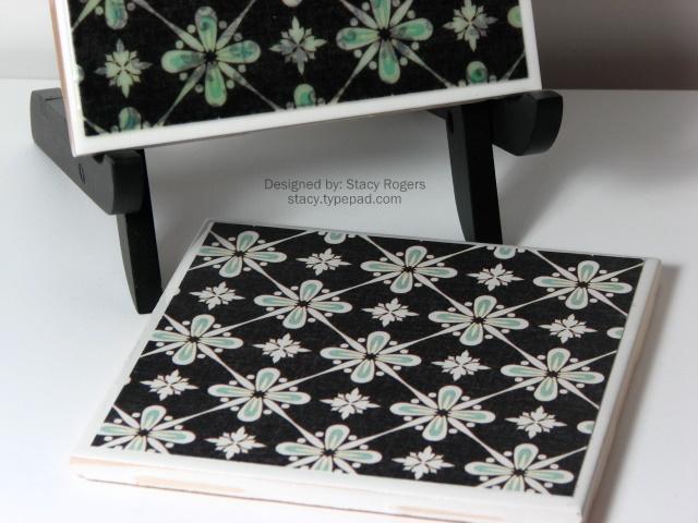 Green & Black tiles