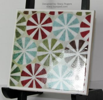 Coaster Tile side view