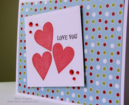 Stacys Paper Crafts Love Valentines Day Cards – Giant Valentines Card